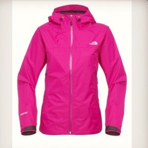 NORTH FACE SUMMIT SERIES GORE-TEX WOMEN'S PINK L